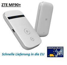 ZTE MF90 + WLAN LTE 4G 3G Hotspot WiFi Mobile Router UNLOCKED (Entsperrt)