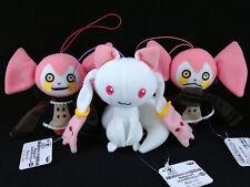 Puella Magi Madoka Magica Movie Plush Doll Mascot Complete set Kyubey Bebe