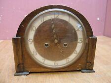 Antiguo Eduardiano Diseño Art Deco Reloj de proyecto carillón