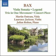 Bax: Viola Sonata; Legend; Trio in One Movement; Concert Piece, New Music
