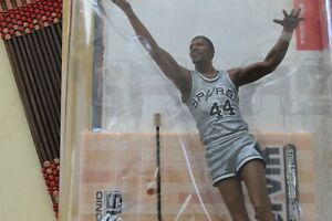 GEORGE GERVIN, ABA LIMITED EDITION MCFARLANE, ONE OF 4,400, SAN ANTONIO SPURS