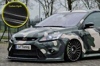 Spoilerschwert Frontspoiler ABS für Ford Focus 2 RS DA3 mit ABE Carbon Optik