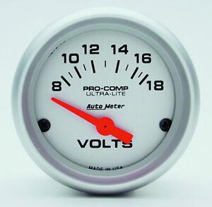 Auto Meter 4391 Gauge Voltmeter
