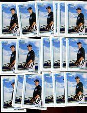 DECK MCGUIRE LOT OF 18 - 2010 1st BOWMAN CARD JAYS RICHMOND VIRGINIA