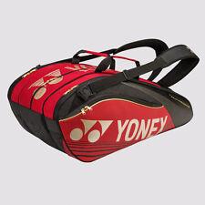 YONEX 9 Tennis/12+ Badminton Pro Thermal Racquet Bag 9629EX, Red