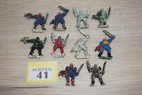 Warhammer 40k Space Marine Scouts x 10 - Metal LOT 41