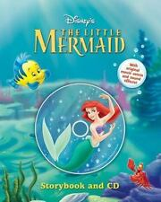 Disney's the Little Mermaid Storybook and CD by Disney Book Group