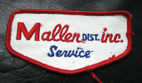 "MALLEN EMBROIDERED SEW ON ONLY PATCH COMPANY ADVERTISING SERVICE 4"" x 2"""