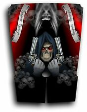 Arctic Cat Wildcat Graphic Decal Kit Sticker Wrap Grim Reaper Revenge Red