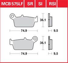 KR balatas frase delantero mcb 575 peugeot SV 125 93-97... brake pads set frot