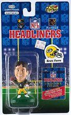 Corinthian Headliners NFL Brett Favre Green Bay Packers Football Figure NIP 1996