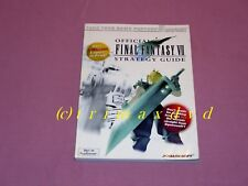 Final Fantasy VII Official Strategy Guide (engl.Lösungsbuch) _Sehr guter Zustand