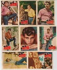 FABIAN MUSIC & MOVIE TEEN IDOL VINTAGE 1959 TOPPS 14 CARD LOT NO DUPS MID GRADE