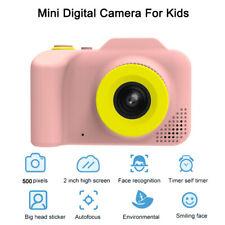 Pink! Smart Digital Camera 5MP HD 1080P Autofocus Face recognition For Kids Girl