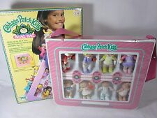 Vintage Cabbage Patch Doll Brag Bag with 8 Dolls 1984 in original box CPK #2