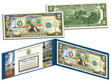 YELLOWSTONE Official United States $2 Bill Honoring America's National Parks