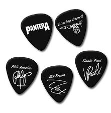 PANTERA Dimebag Vinnie Phil Rex signature print plectrum guitar pick picks
