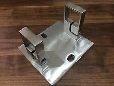 Stainless steel Square wall mounted bracket grade 316