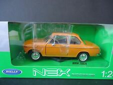WELLY BMW 2002ti Arancione Giallo 1/24