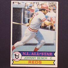 JOHNNY BENCH  1979 Topps #200  Cincinnati Reds  Catcher single All-Star