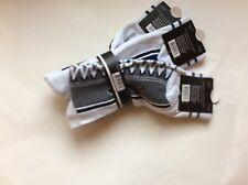 3 Pairs Mens Novelty Sneaker Socks * Black/Gray/Blue  SZ 10-13 * FUN!