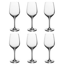 3c5f9d08030 Stolzle Eclipse Set of 6 Wine Glasses German Crystal Wine Glasses Stemmed  Clear