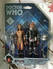 LEELA & COMMANDER STOR from 'THE INVASION OF TIME' Doctor Who Figures New Mint