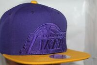 Los Angeles Lakers Mitchell & Ness NBA Cropped Satin Snapback,Hat,Cap        NEW