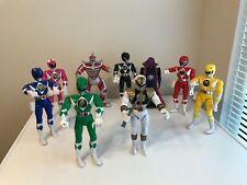7 Mighty Morphin? Power Rangers/ 2 Villians- 8 Inch - Bandai 1993 (1-1995)