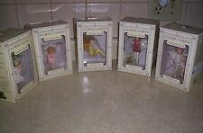 Flower Fairies Cicely Mary Barker Series III Fairy Ornaments - Lot of 5