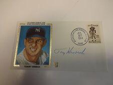 Tommy Henrich Autographed Cache New York Yankees JSA M92207