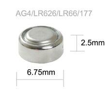 1 batería para reloj ag4 377a sr626sw lr626 lr66 relojes Alkaline batería 1,5v