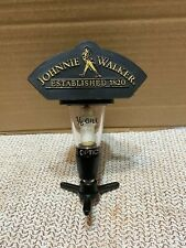 Johnnie Walker Scotch Whisky Established 1820 Optic In Good Condition