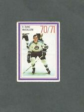1970-71 Esso Hockey Stamp Dunc McCallum Pittsburgh Penguins
