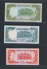 Afrique Ancien Mali Soudan Lot de 3 billets différents  en état NEUF   Lot N° 9