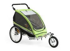 Via velo 3 in 1 Kids Bike Trailer Child Bicycle Pram Stroller Children Jogger
