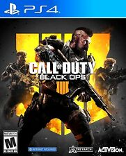 NEW Call of Duty: Black Ops 4 IIII For The Sony Playstation 4 + PS4 Pro 4K HDR