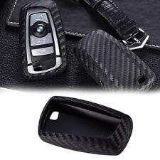1PC Wireless Remote Carbon Fiber Pattern Shell Fit BMW 1 3 4 5 6 7 X1 X3 Series