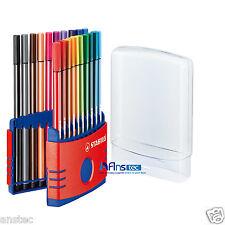 STABILO pen 68 colorparade fibre feutres Deskset de 20 couleurs assorties 1mm