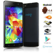 "Unlocked 5.5"" Android 4.4 DualSim 3G SmartPhone 2Core Unlocked AT&T T-Mobile"