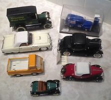Vintage Diecast 1923 1954 Chevrolet 1931 1936 1932 Ford 1955 T-Bird lot of 7