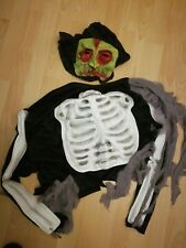 Boys Halloween Scary Skeleton Outfit. Age 10-12