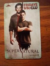 SDCC 2010 Supernatural Exclusive Hotel Key Card CW