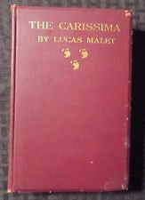 1896 THE CARISSIMA Modern Grotesque by Lucas Malet HC VG Herbert & Stone