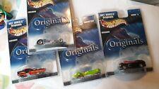 Hot Wheels Originals Exclusive Deora II, Hammered Coupe, Phantastique, & Metro