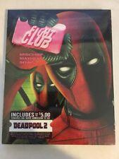 Fight Club Blu Ray Deadpool Photobomb Slipcover Sealed Ltd Wal-Mart Exclusive