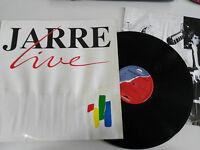 """Jean Michel Jarre Live 12 """" Vinyl LP G VG+ West Deutschland Edit Ersten Press"""
