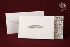 100 BLANK WEDDING INVITATION WITH ENVELOPE (70115)