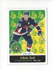 2015-16 O-Pee-Chee Retro #388 Chris Neil Senators