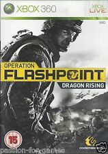 OPERATION FLASHPOINT DRAGON RISING for Xbox 360 - with box & manual - PAL